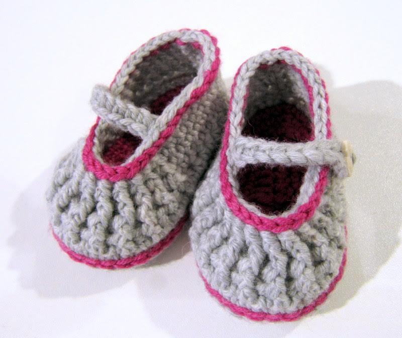Freie Häkelanleitung Für Babyschuhe Strick Schick